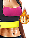Body Shaper Hot Sweat Workout Tank Top Afslankende Vest Corrigerend ondergoed Elastaan Rekbaar Geen Rits Gewichtsverlies Tummy Fat Burner Buikspierversterking Yoga Training&Fitness Gym training Voor