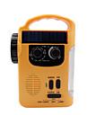 RD339 Radio portabil MP3 player / Energie solară / Lanternă Receptorul mondial Galben
