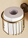 トイレットペーパーホルダー 新デザイン / クール 近代の 真鍮 1個 トイレットペーパーホルダー 壁式