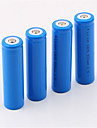 18650 Battery 5000 mAh 4pcs Rechargeable for Camping / Hiking / Caving