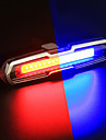 LED Eclairage de Velo Eclairage de Velo Arriere Eclairage securite velo / Ecarteur de danger ECLAIRAGE ARRIERE VTT Velo tout terrain Cyclisme Impermeable Degrade de Couleur Batterie Li-ion