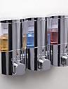 ソープディスペンサー 新デザイン / クール コンテンポラリー プラスチック+ PCB +耐水エポキシカバー 1個 壁式
