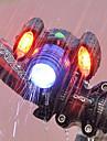 ضوء الدراجة الأمامي اضواء الدراجة ركوب الدراجة ضد الماء, محمول, قابل للتعديل بطارية قابلة لإعادة الشحن 500 lm منفذ USB Camping / Hiking / Caving / أخضر
