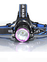 3Mode Headlamps Bike Light Headlight LED Cree® XM-L2 1 Emitters 2000 lm 3 Mode with Batteries and Chargers Waterproof Impact Resistant Rechargeable Camping / Hiking / Caving Everyday Use Cycling