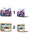 """Capa para MacBook Desenhos 3D PVC para Para o Novo MackBook Pro 15"""" / Para o Novo MackBook Pro 13"""" / MacBook Pro 15 Polegadas"""