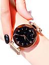 Pentru femei Ceas de Mână Quartz Negru / Albastru / Violet 30 m Rezistent la Apă Ceas Casual Analog femei Aspect Diamant Casual Modă - Mov Albastru Roz auriu