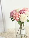Kunstbloemen 1 Tak Klassiek Bruiloft Bruidsboeketten Camellia Bloemen voor op tafel