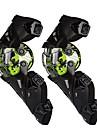 2ピースオートバイ保護ギア用膝パッド男性用ポリプロピレン繊維スポーツ/防風