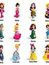 Anime & Manga Pessoas Princesa Desenho Fofo Fabricado a Mao Interacao pai-filho Princesa PVC (Polyvinylchlorid) Infantil Brinquedos Dom 12/