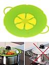 Silikon Kochutensilien Lebensmittelabdeckungen Kreative Kueche Gadget Anti-verschuettet Kuechengeraete Werkzeuge Fuer den taeglichen Einsatz 1pc