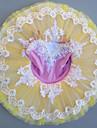 رقص الباليه الفساتين للفتيات أداء سباندكس دانتيل / مفصل منفصل / كريستال / أحجار الراين بدون كم فستان