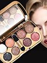 8 farver -jenskygger -jne / -jenskygge Alt-i-en / Let at bære / Dame Bærbar Beskyttende Multi-funktion Daglig makeup / Halloweenmakeup / Festmakeup Makeup Kosmetiske / Glans