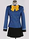 Inspirado por Cosplay Cosplay Anime Disfraces de cosplay Uniformes Escolares Britanico / Contemporaneo Panuelo / Top / Falda Para Hombre / Mujer