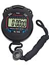 lcd chronograaf digitale timer sport stopwatch professionele handheld digitale stopwatch met chronograaf counter met riem