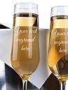 vetro / Fibra di bamboo / Vetro Tosta le scanalature Confezione regalo coppa / Matrimonio Per tutte le stagioni