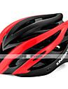 Kingbike Adulte Casque de velo BMX Casque 7 Aeration Poids leger Integralement moule ESP+PC Des sports Activites Exterieures Cyclisme / Velo Moto - Fuchsia Rouge Vert Unisexe