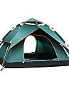 TANXIANZHE® 4 شخص أوتوماتيكي الخيمة في الهواء الطلق ضد الهواء مكتشف الأمطار التنفس إمكانية طبقات مزدوجة أوتوماتيكي خيمة التخييم 2000-3000 mm إلى شاطئ Camping / Hiking / Caving السفر (البولي يورثين) PU
