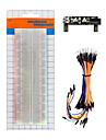 ks0312 keyestudio breadboard power module830-hullers loddefri breadboard65 jumper wire pakke