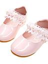 Κοριτσίστικα Παπούτσια PU Άνοιξη / Φθινόπωρο Ανατομικό / Λουλουδάτα φορέματα για κορίτσια Χωρίς Τακούνι Ραμμένη Δαντέλα για Νήπιο Λευκό / Ροζ Ανοικτό / Πάρτι & Βραδινή Έξοδος