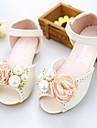 Κοριτσίστικα Παπούτσια Μικροΐνα Άνοιξη / Καλοκαίρι Ανατομικό Σανδάλια Πέρλες / Λουλούδι για Παιδιά / Εφηβικό Ροζ / Κρύσταλλο