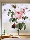 Okenní film a samolepky Dekorace Moderní / 3D Květiny PVC Nálepka na okna / Nelesknoucí se