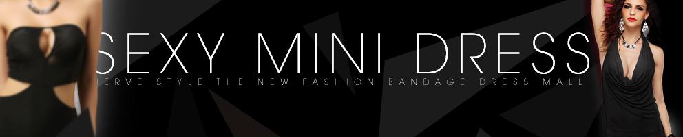 sexy mini jurk