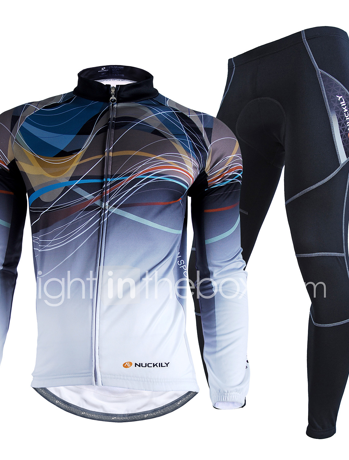 Nuckily Men s Long Sleeve Cycling Jersey with Tights - Camouflage Bike  Clothing Suit Waterproof Thermal   e8e1cbc34